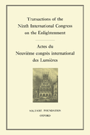 Transactions of the Ninth international congress on the Enlightenment