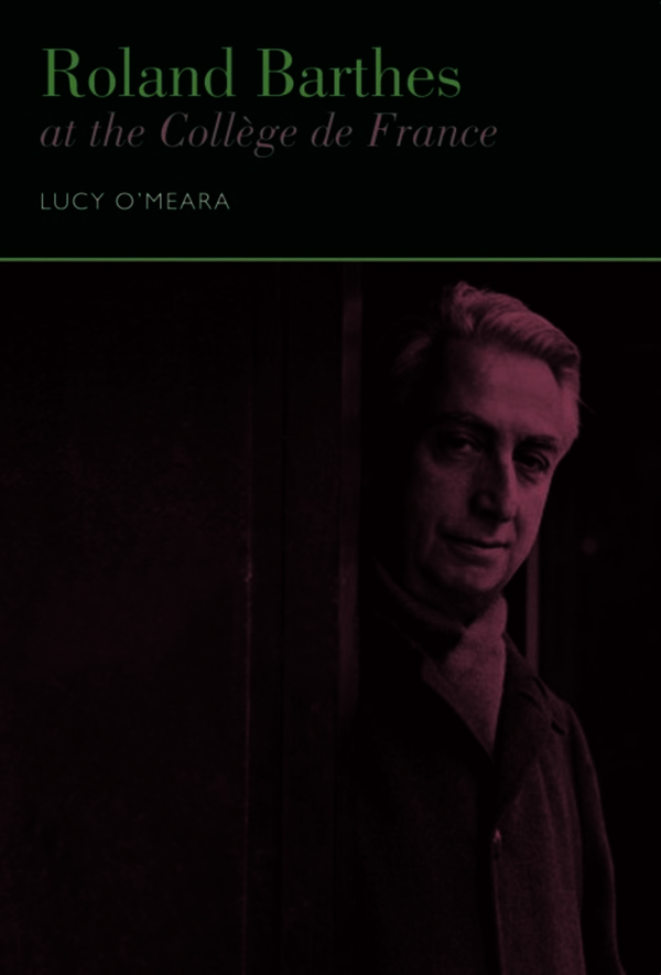 Roland Barthes at the Collège de France