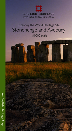 Stonehenge and Avebury 1:10000 Map