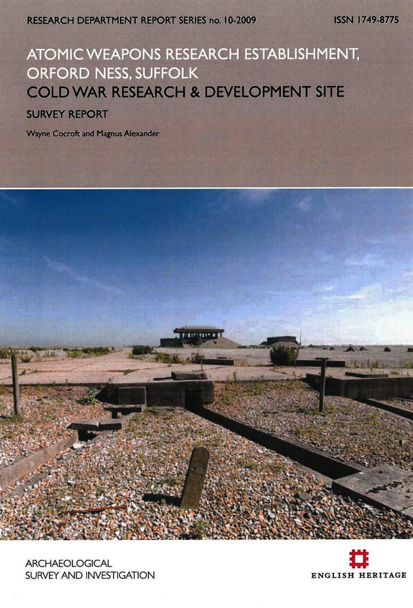 Atomic Weapons Research Establishment, Orford Ness, Suffolk