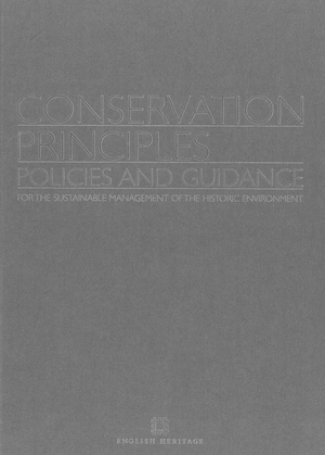 Conservation Principles Policies and Guidance