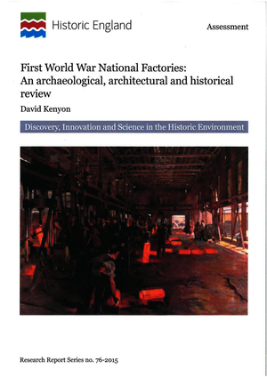 First World War National Factories