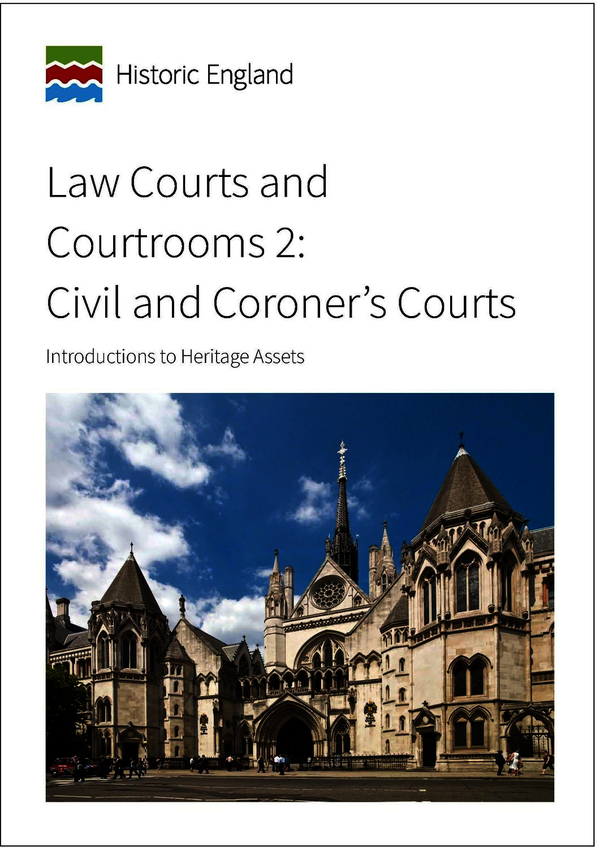 Law Courts and Courtrooms 2: Civil and Coroner's Courts
