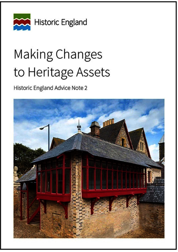 Making Changes to Heritage Assets