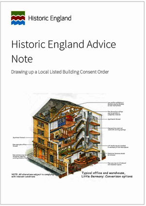 Drawing up a Local Listed Building Consent Order