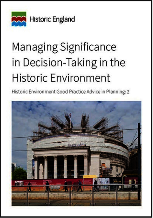 Managing Significance in Decision-Taking in the Historic Environment