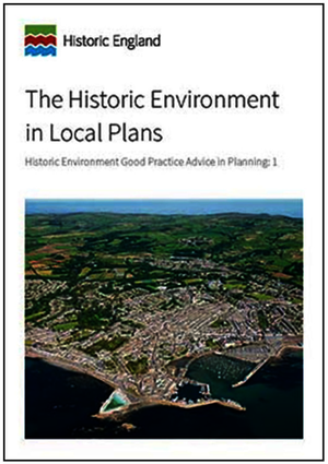 The Historic Environment in Local Plans