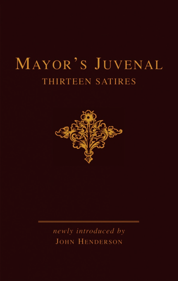 Mayor's Juvenal (two volume slipcased set)