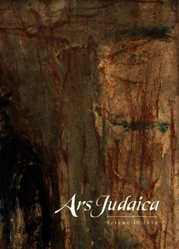 Ars Judaica: The Bar-Ilan Journal of Jewish Art, Volume 10