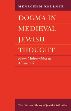 Dogma in Medieval Jewish Thought