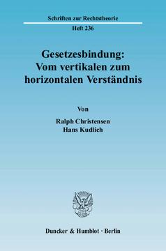 Horizontale und vertikale gewaltenteilung