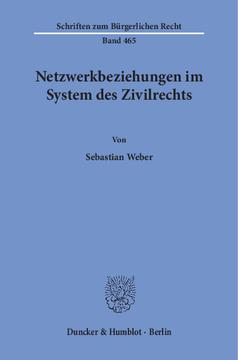 Duncker Humblot Berlin Netzwerkbeziehungen Im System Des